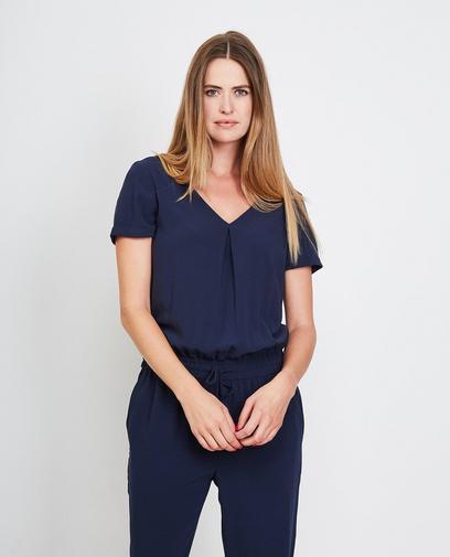 Nachtblauwe jumpsuit